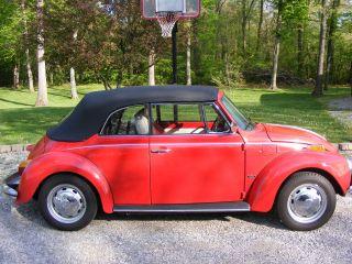 1973 Volkwagon Beetle Convertible photo