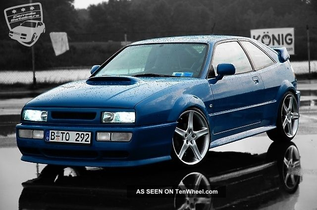 1992 Volkswagen Corrado Fully Modified Vr6 Supercharger