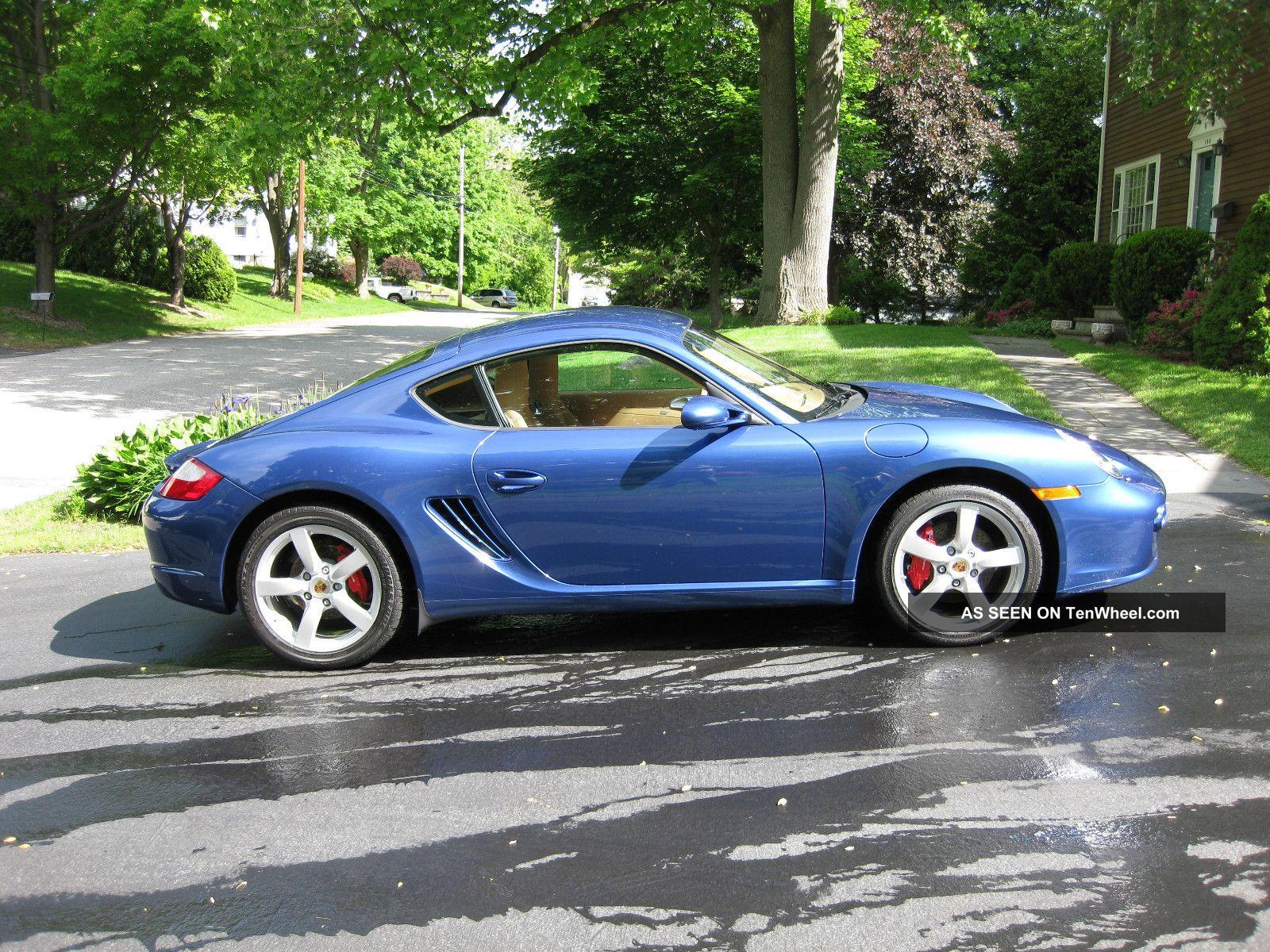 2008 Porsche Cayman S Extremely Cobalt Blue W Sport