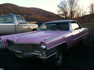 1965 Cadillac Coupe Deville / Pink Cadillac photo
