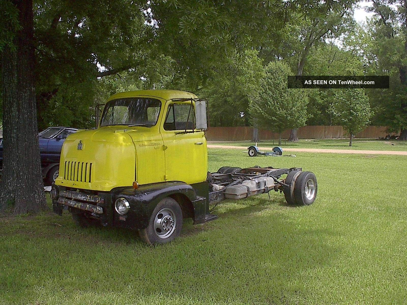 1947 International Cabover Coe Car Hauler Rat Rod Other photo
