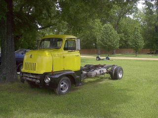 1947 International Cabover Coe Car Hauler Rat Rod photo