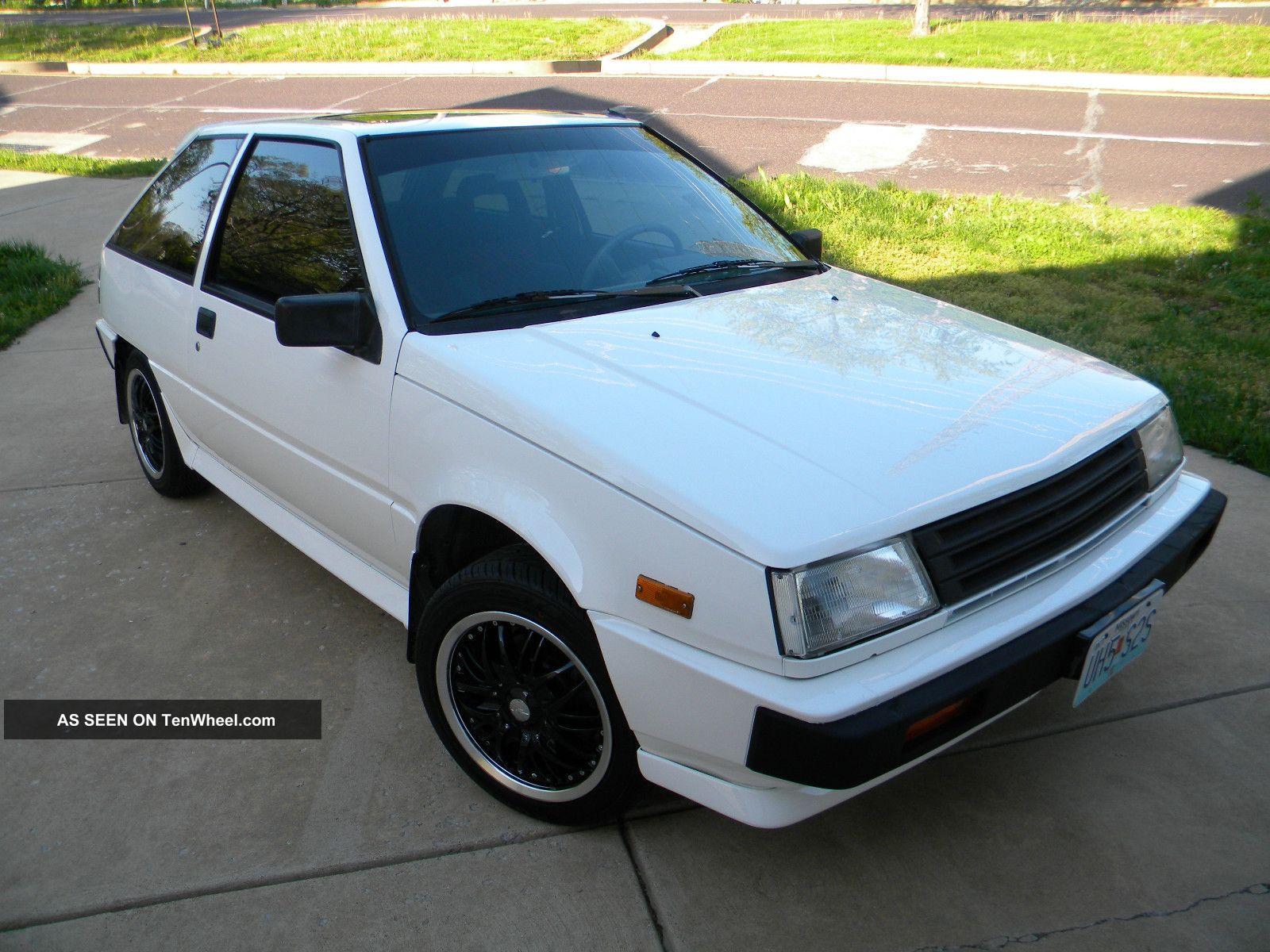 1988 Mitsubishi Mirage Turbo Colt Turbo