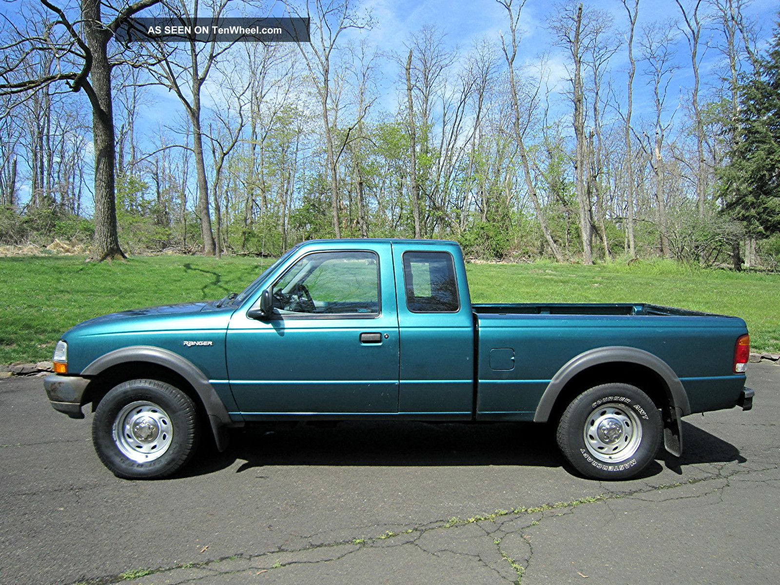 1998 ford ranger with stretch cab and 4x4 and