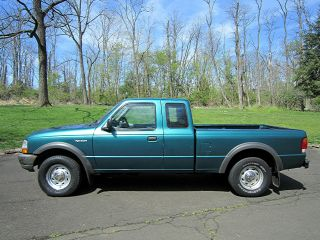 1998 Ford Ranger With Stretch Cab And 4x4 And photo