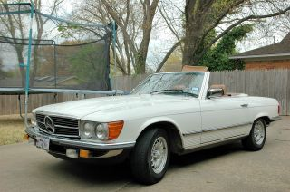 1984 Mercedes 380 Sl,  Two Owner Convertible photo