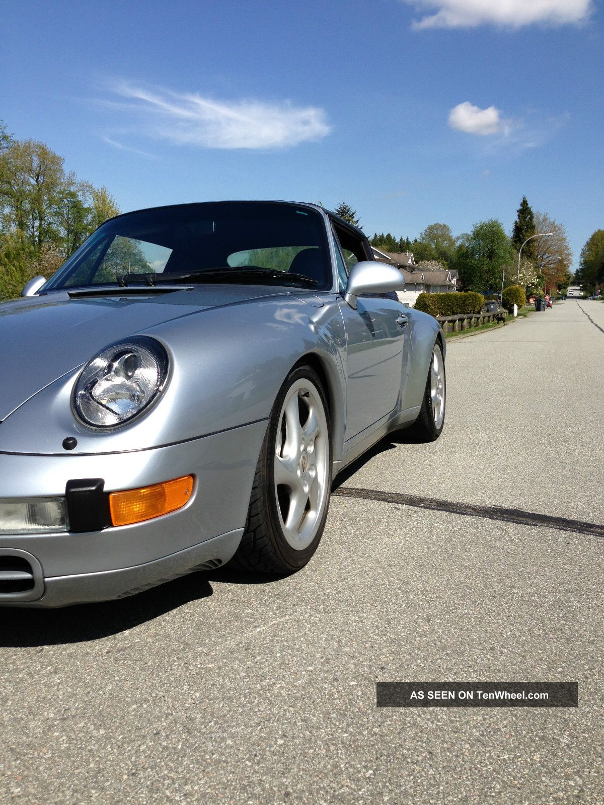 1997 Porsche 911 Carrera 4 Cabriolet 993 All Wheel Drive Turbo Twists Rare