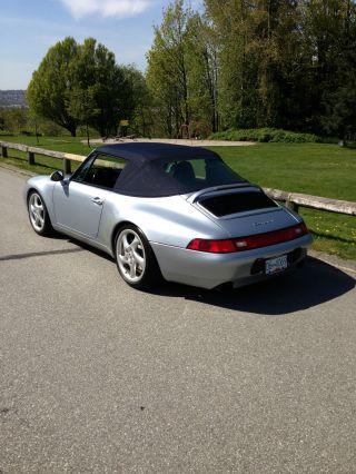 1997 Porsche 911 Carrera 4 Cabriolet 993 - All Wheel Drive Turbo Twists - Rare photo