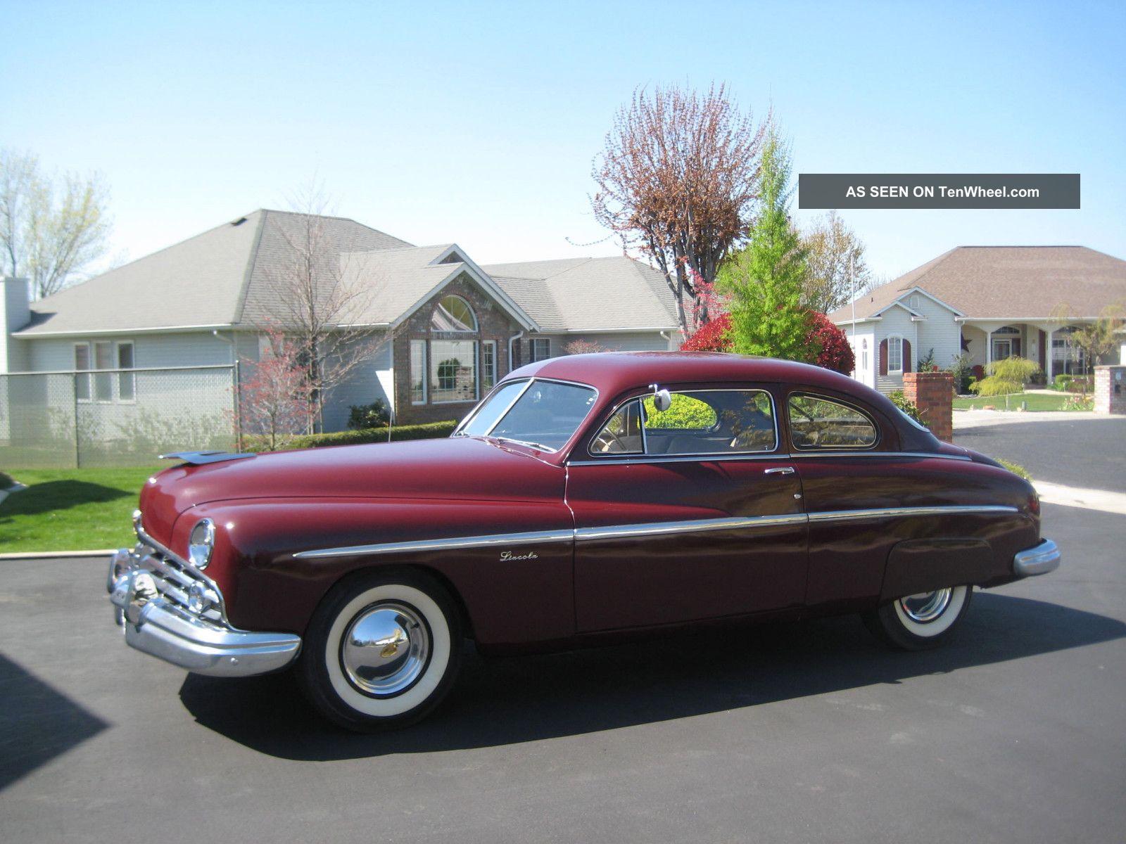 1949 Lincoln Club Coupe,  Driver,  Interior,