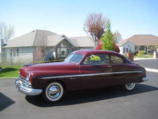 1949 Lincoln Club Coupe,  Driver,  Interior,