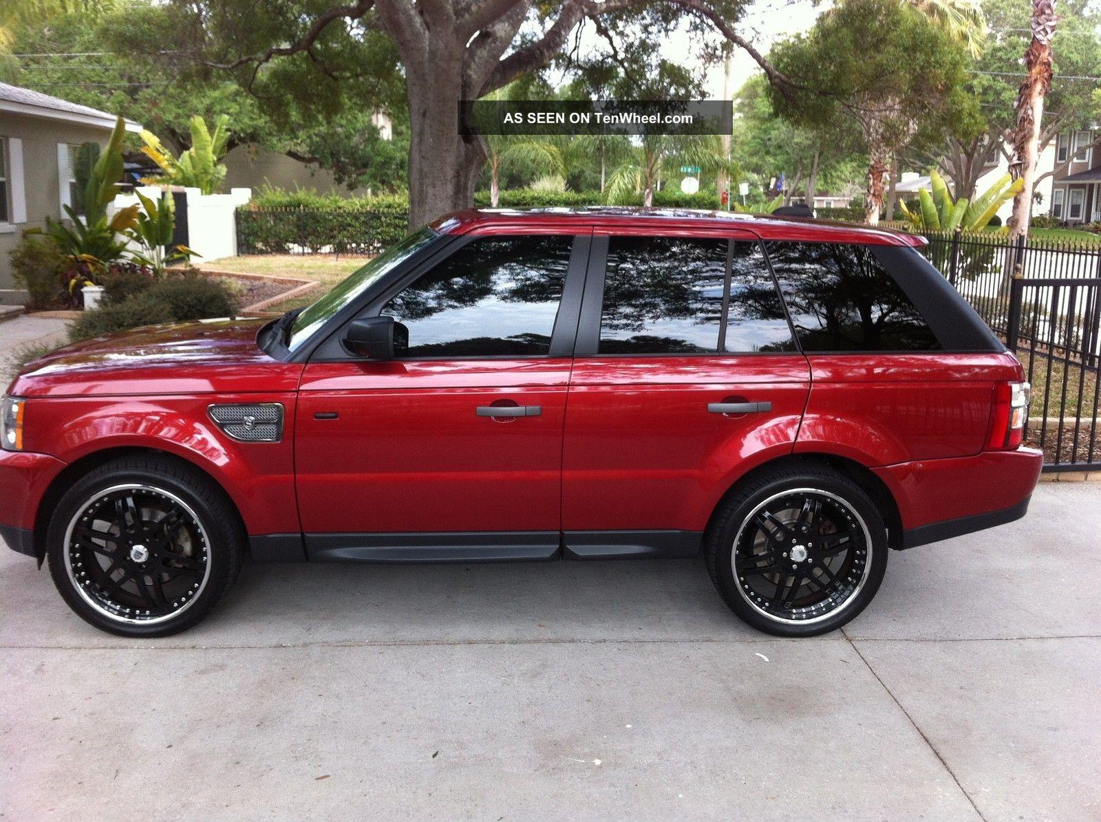 2006 Range Rover Sport Strut Edition.  Loaded.  Rimini Red / Charcoal.  22