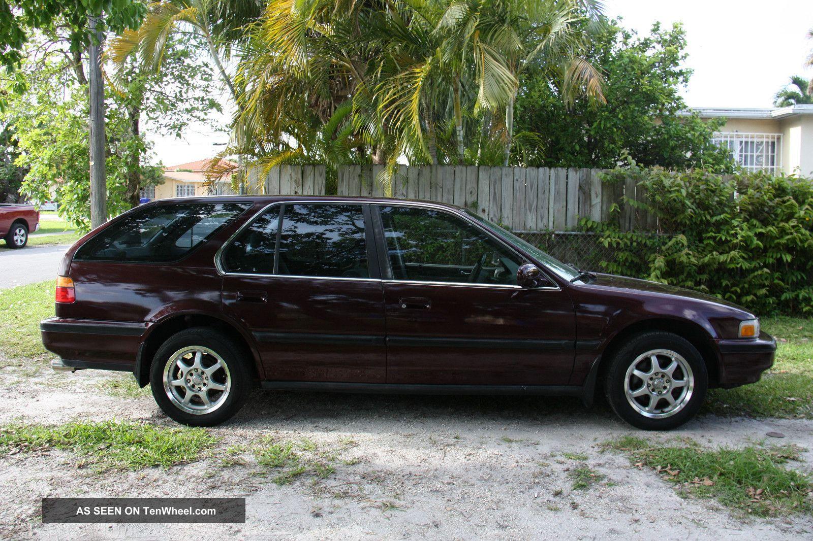 Honda 91 honda accord lx : 1991 Honda Accord Lx Wagon 5 - Door 2. 2l