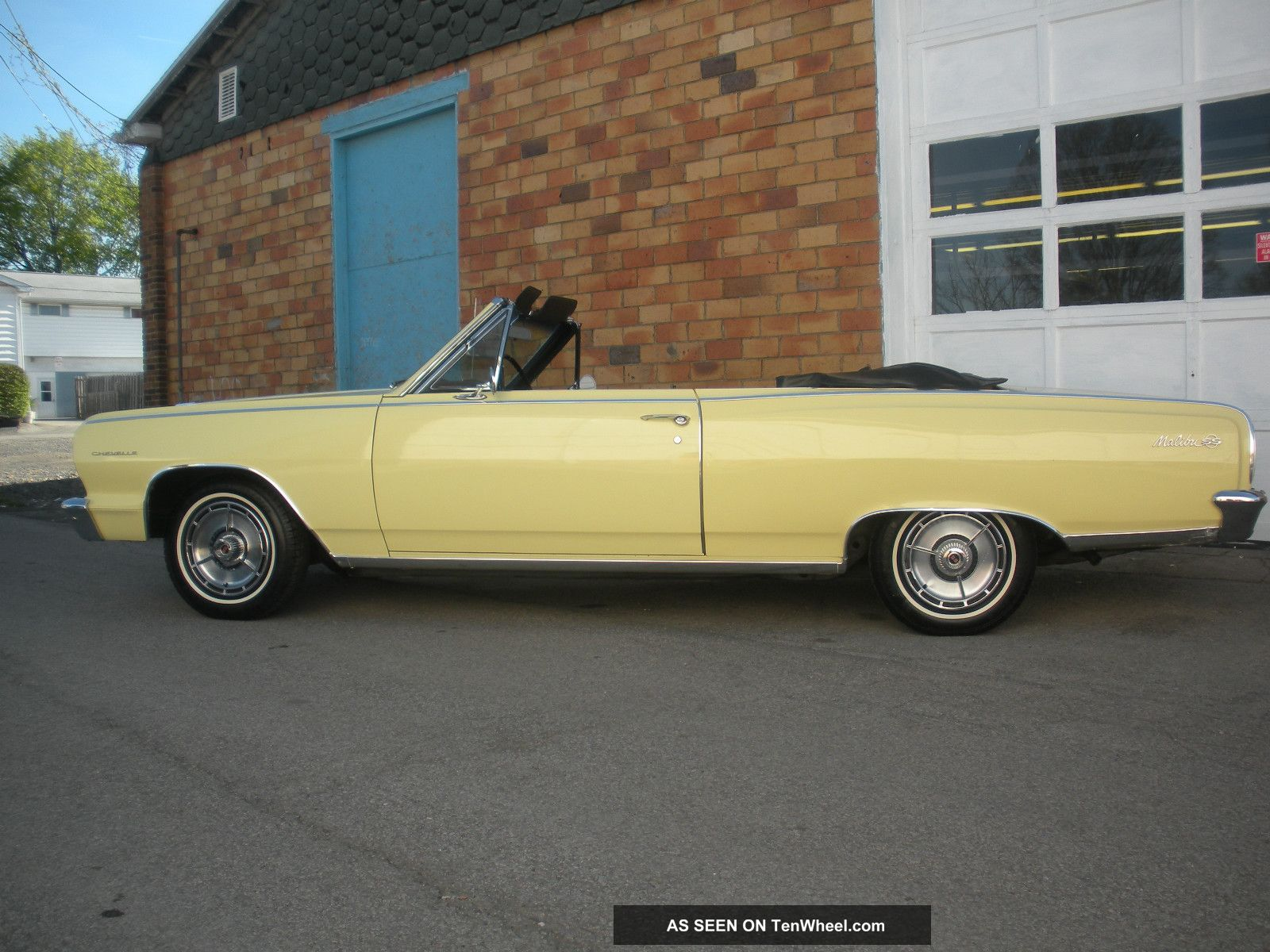 1964 Chevelle Malibu Ss Convertible Survivor, Unmolested