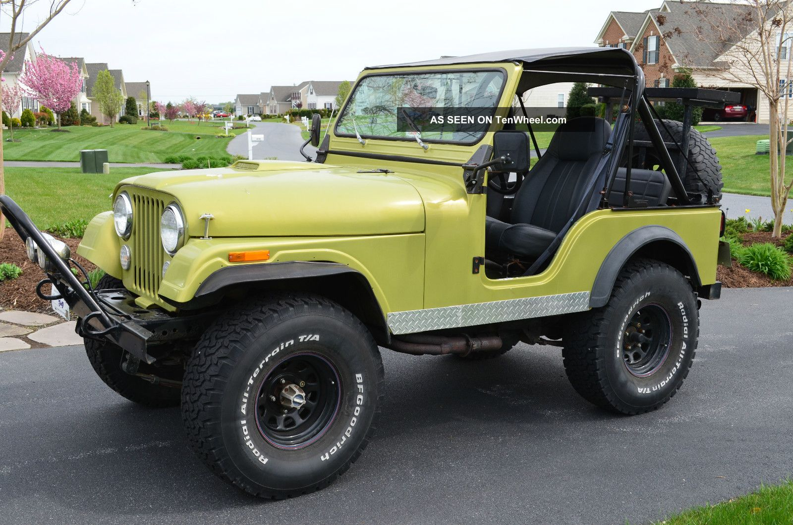 1981 Jeep Cj Cj5 Custom Fiberglass