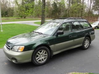 2001 Subaru Outback Wagon 2.  5l 157k Cold Weather Package photo