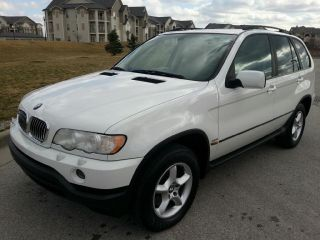 2003 Bmw X5 3.  0 Alpine White photo