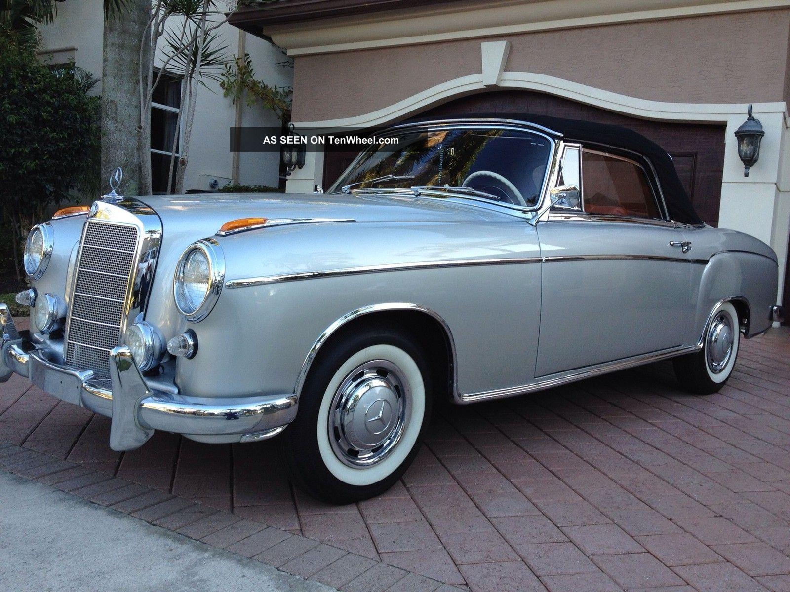 Mercedes benz 220 s carbriolet 1957 for 1957 mercedes benz 220s