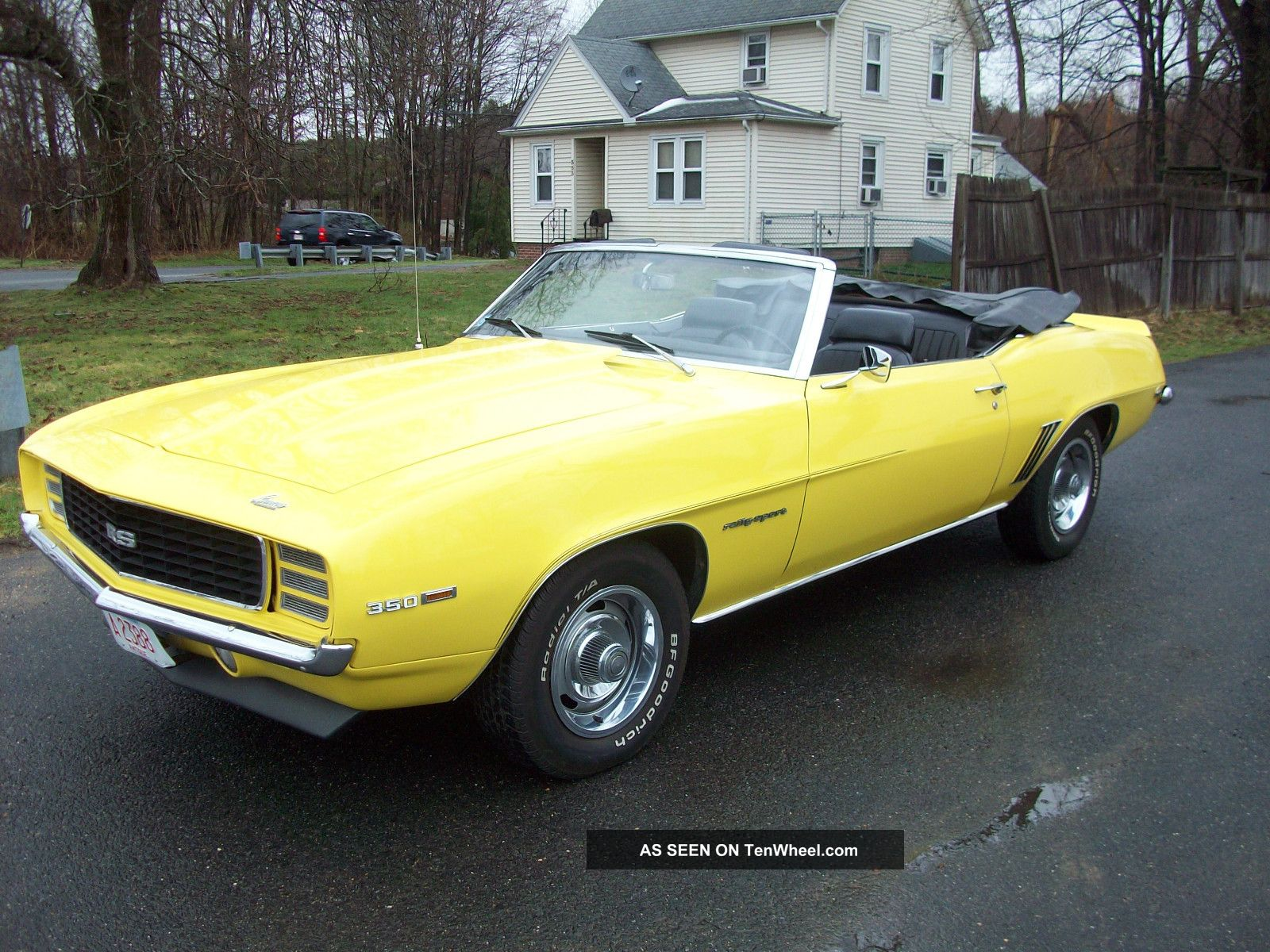 1969 69 chevy camaro rs lm 1 convertible daytona yellow 39 s match 350. Black Bedroom Furniture Sets. Home Design Ideas