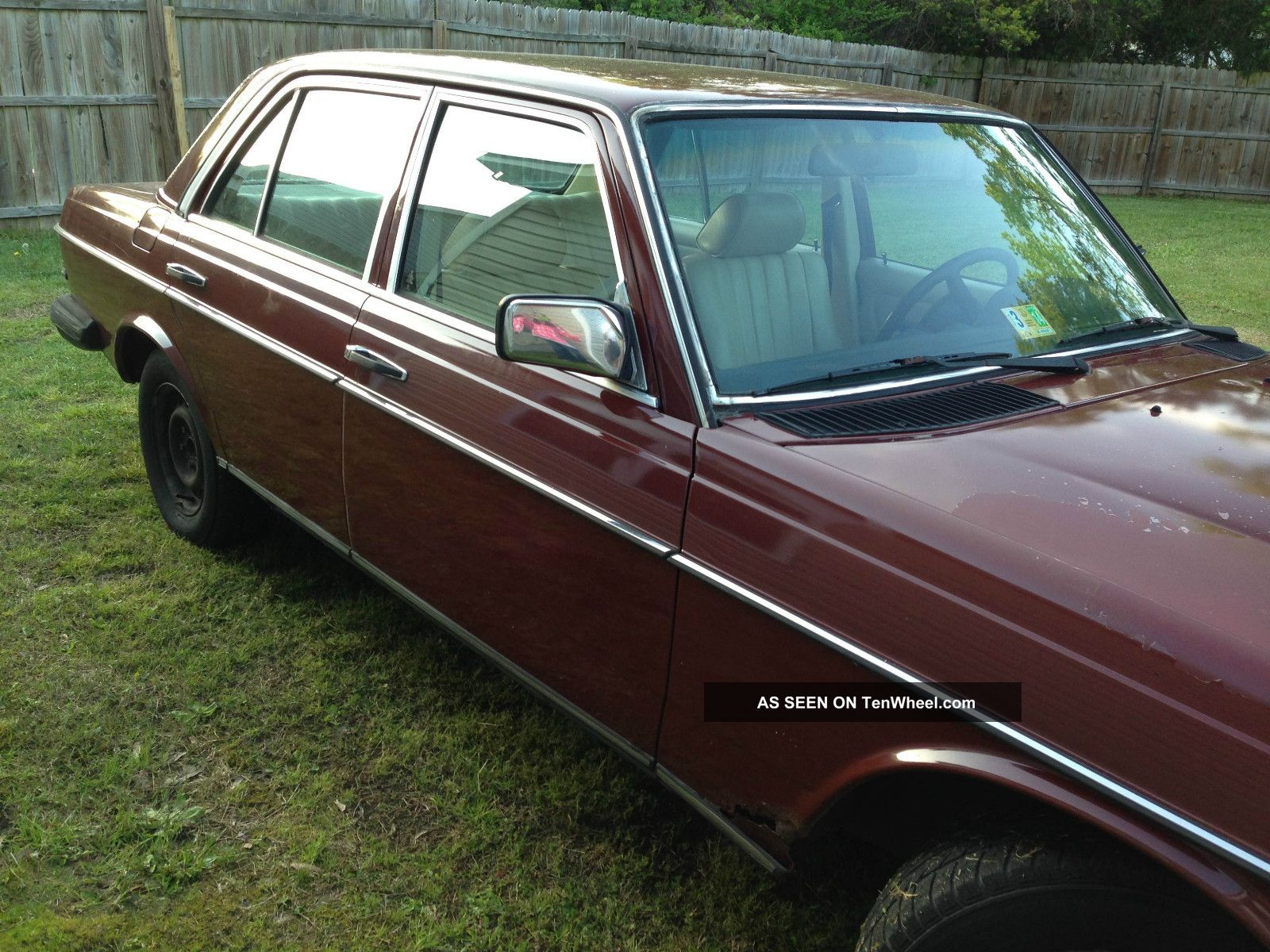 1981 Mercedes Benz 240d Base Sedan 4 Door 2 4l