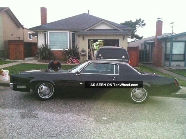 1967 Cadillac Eldorado All Black,  All Eldorado photo