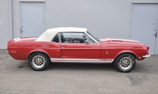 1968 Shelby Gt - 350 Red photo