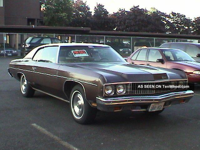 1973 Chevrolet Impala Hard Top