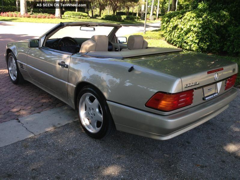 1992 Mercedes Benz 500 Sl A Rare Classic