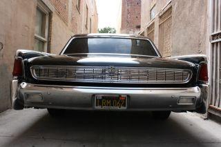 1962 Lincoln Continental,  Ca Black - Plate Car,  61 63 64 64 Wheels photo