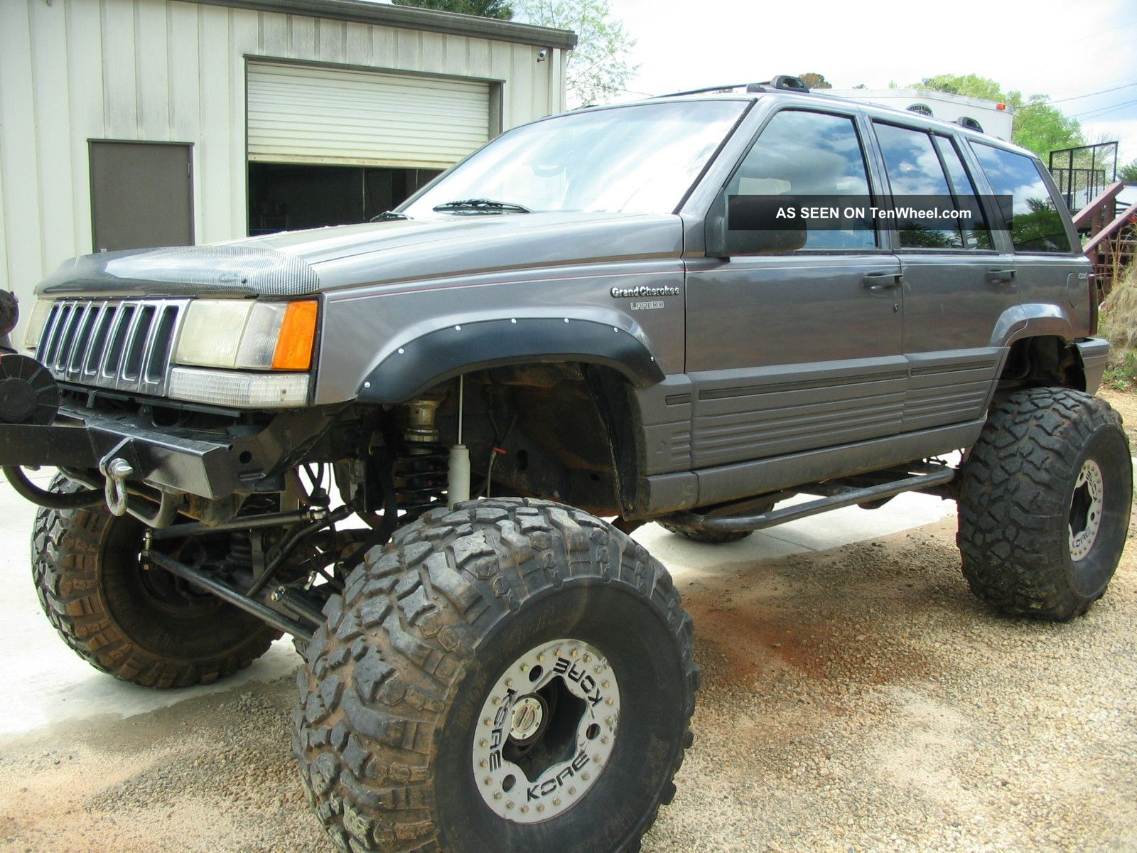 Jeep Grand Cherokee Rock Crawler X Lgw
