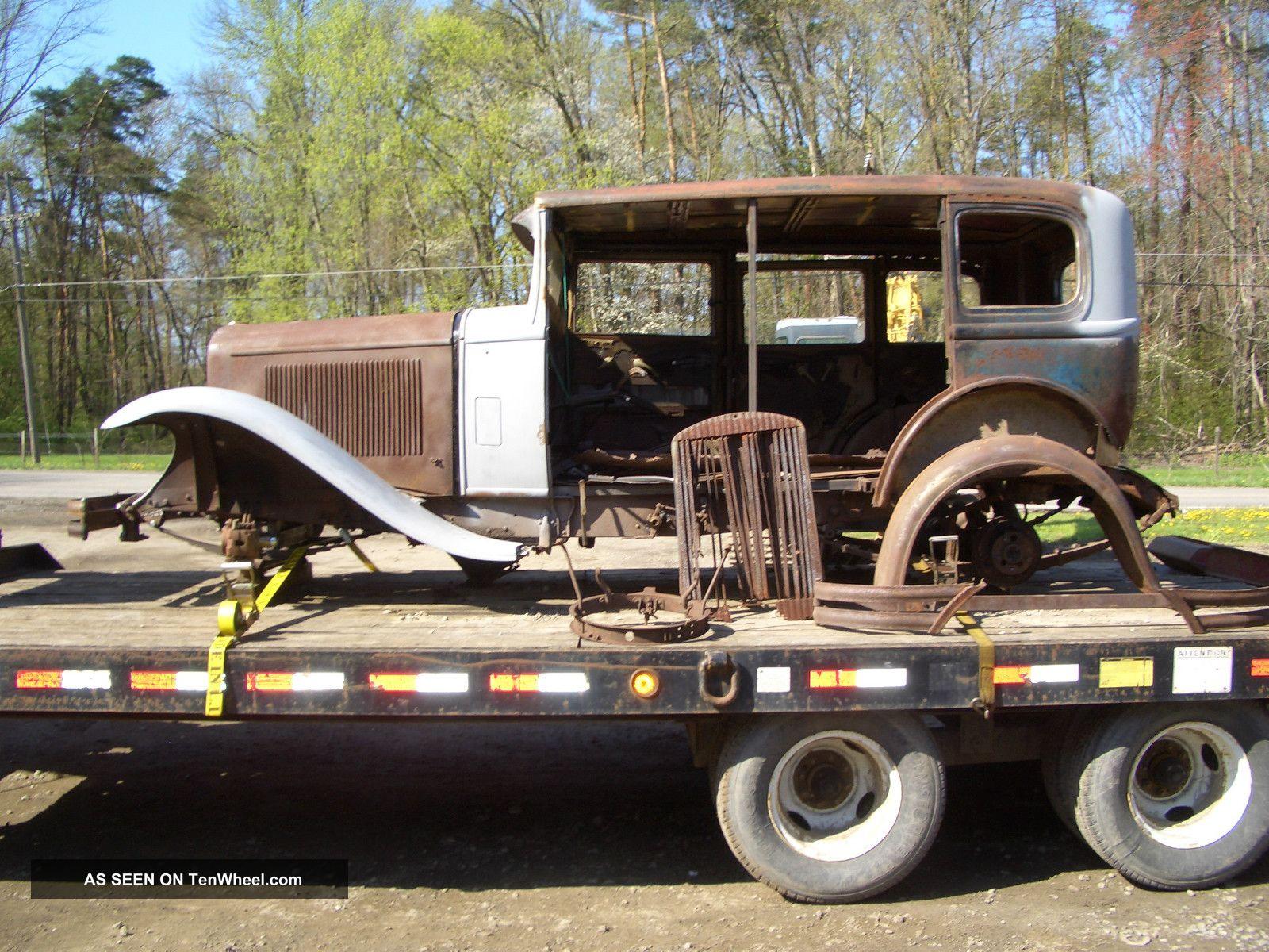 1930 buick model 50 4 door sedan for 1930 pontiac 4 door sedan