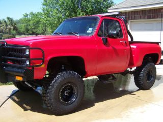 Bad A$$ 1981 Chevy Truck Rhino Inside And Out Fully Equipt Digital Loaded photo