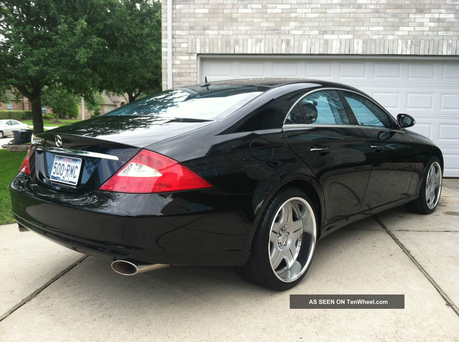 2006 mercedes benz cls500 base sedan 4 door 5 0l. Black Bedroom Furniture Sets. Home Design Ideas