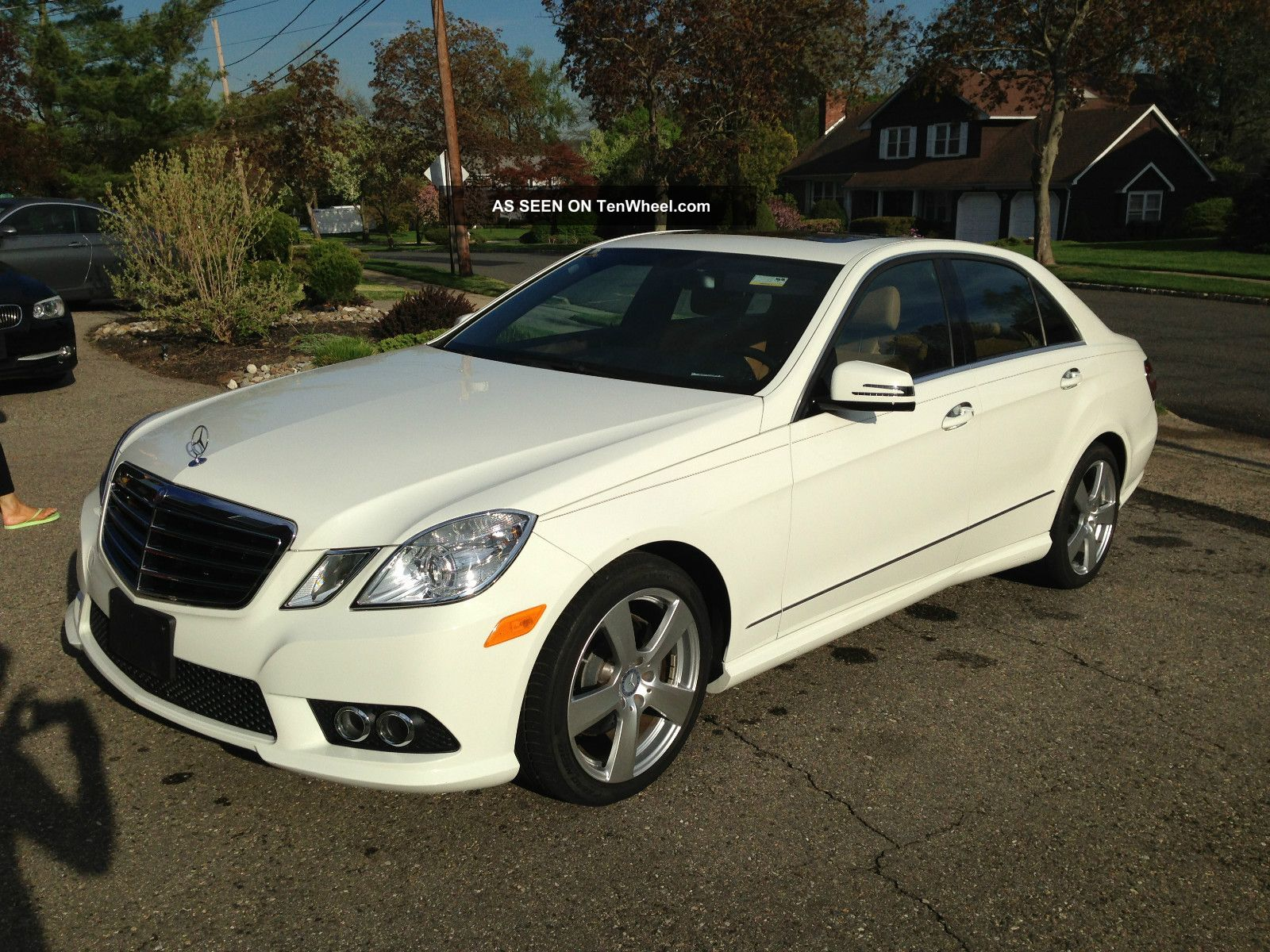 2010 mercedes benz e350 4matic sedan 4 door 3 5l