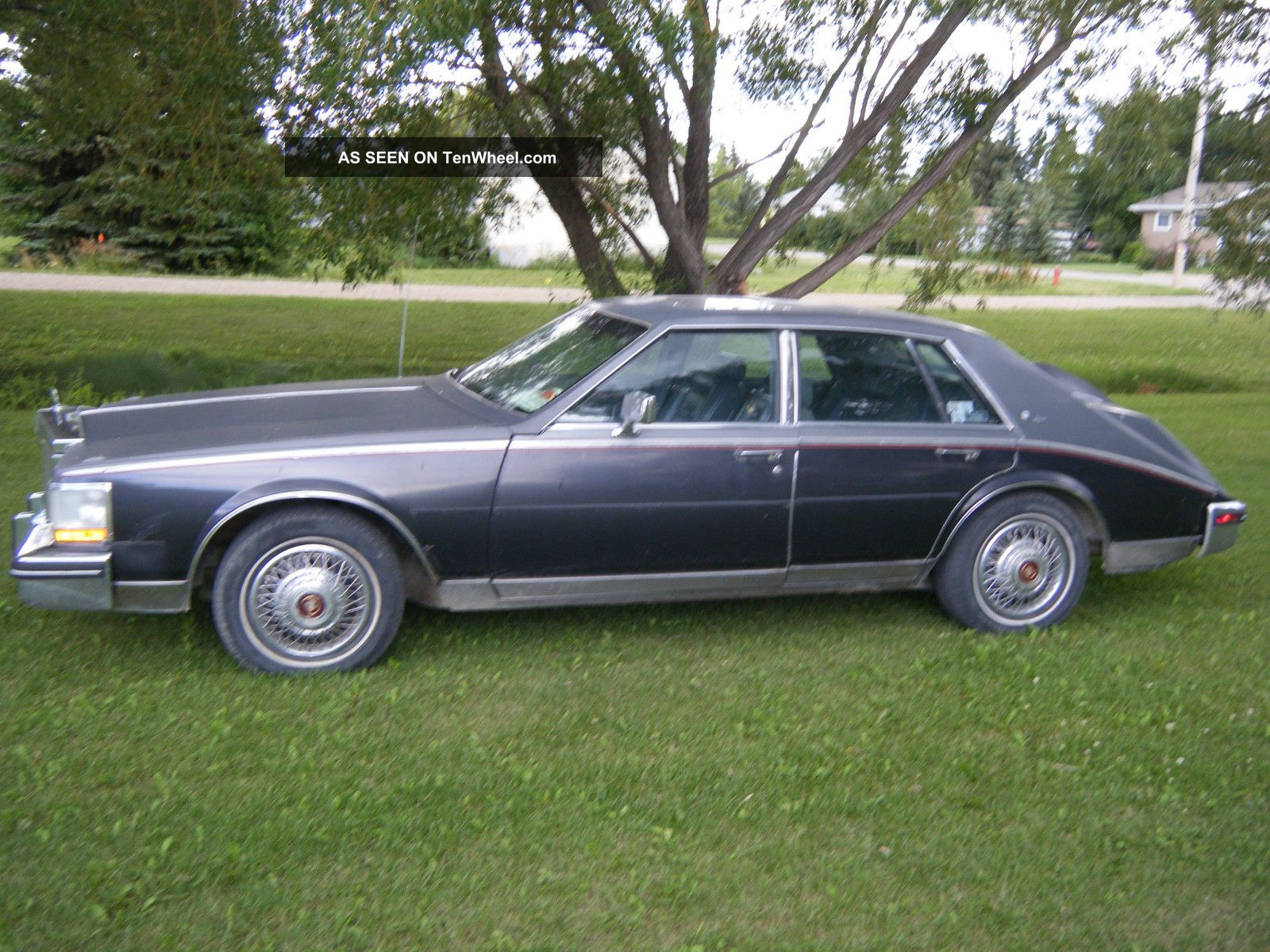 1985 Cadillac Seville Elegante Sedan 4 Door 4 1l