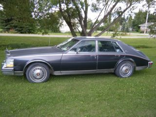 1985 Cadillac Seville Elegante Sedan 4 - Door 4.  1l photo