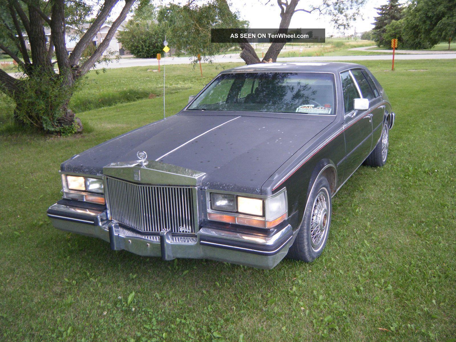 1985 cadillac seville elegante sedan 4 door 4 1l. Cars Review. Best American Auto & Cars Review