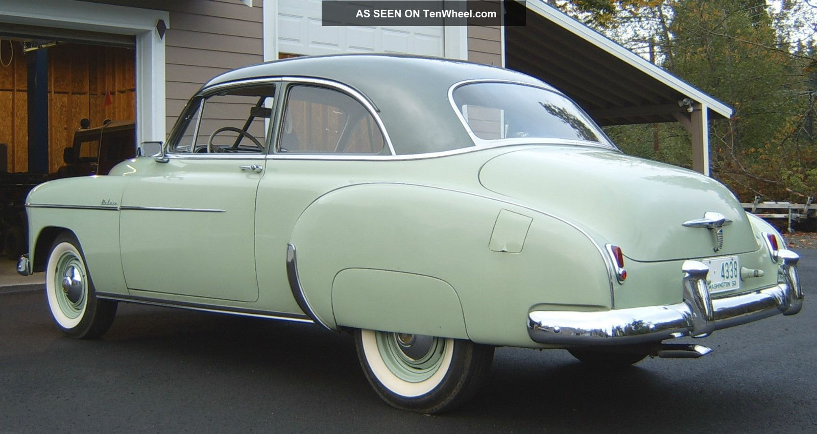 Ford All Wheel Drive Cars 1950 Chevrolet Styleline Deluxe