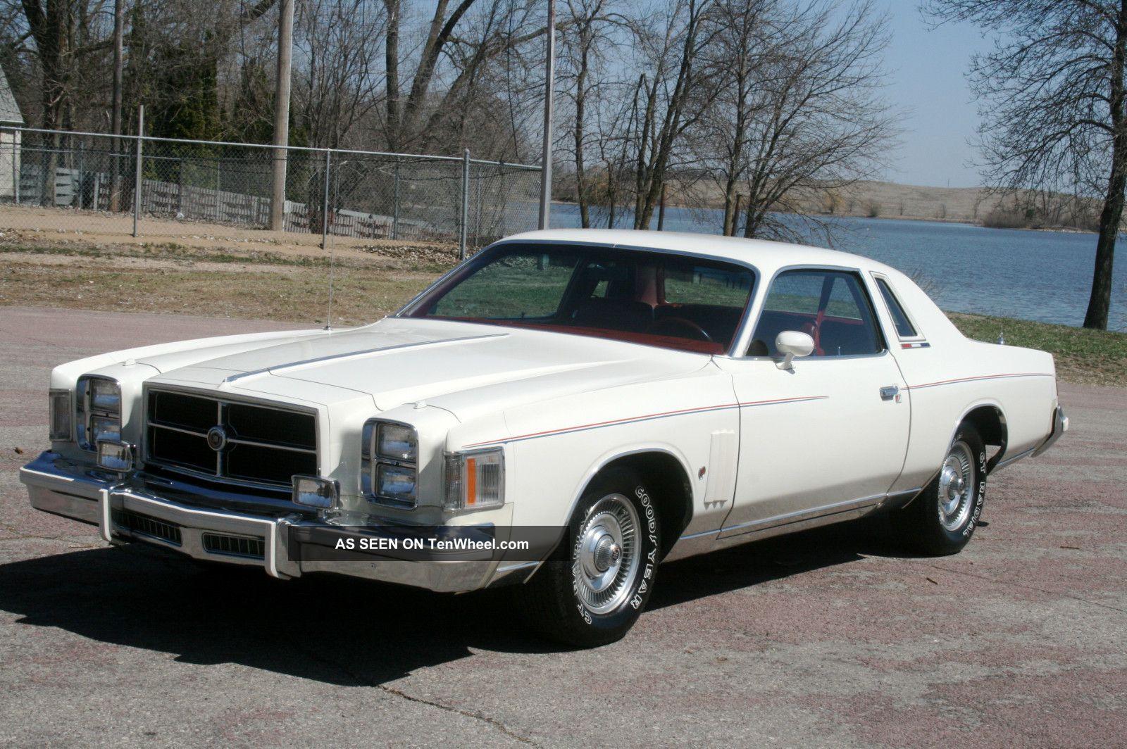 1979 Chrysler Cordoba 300 Hardtop 2 Door 360 H D