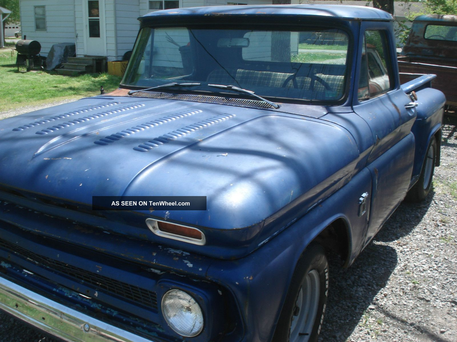 1966 Chevrolet 1 2 Ton Truck Short Bed Stepside Swb Project Chevy C10