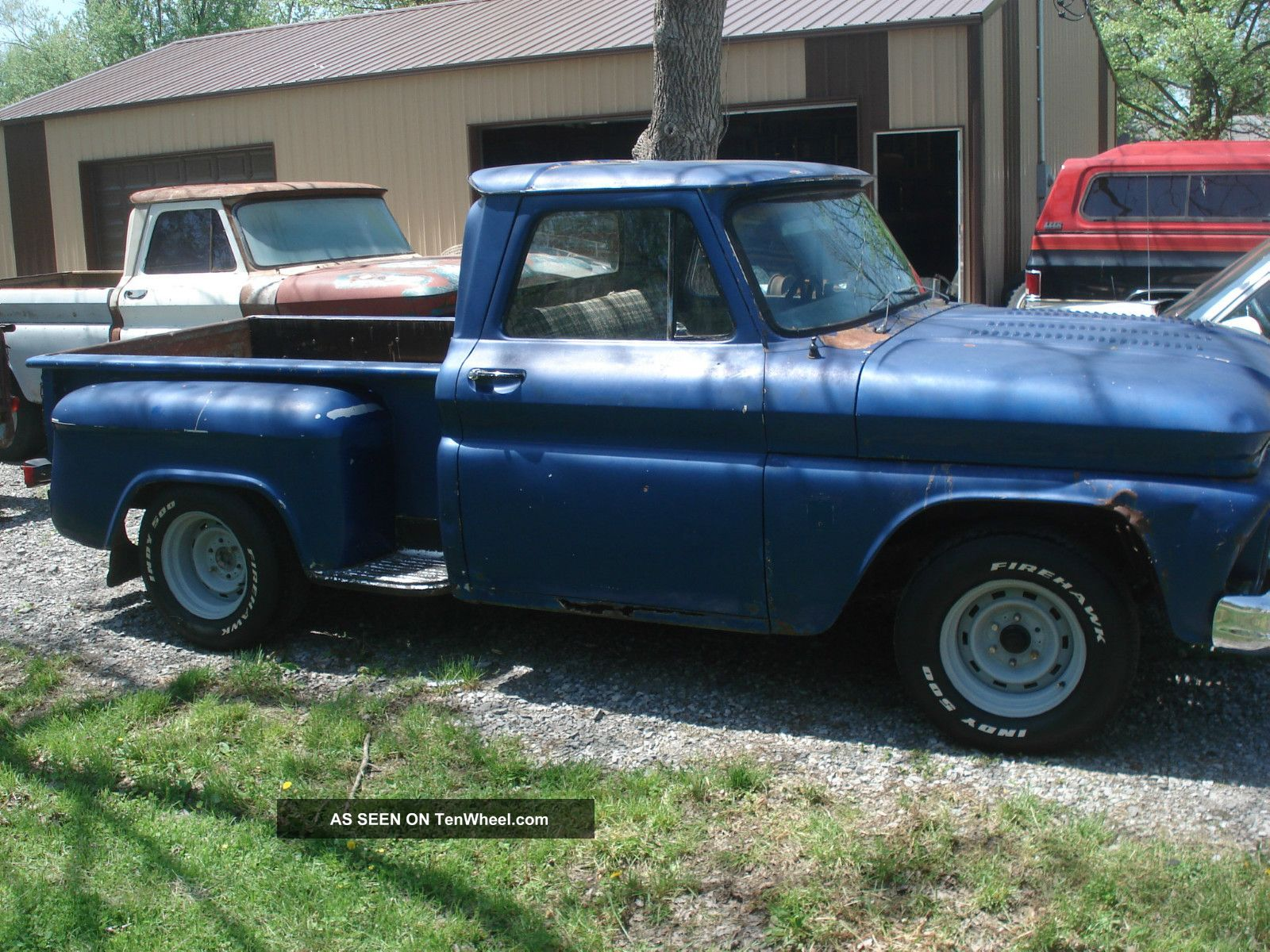 1966 Chevrolet 1 2 Ton Truck Short Bed Stepside Swb Project Pickup