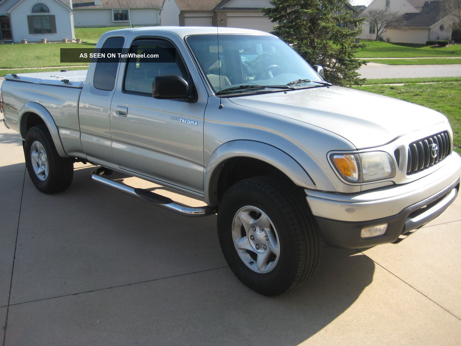 2004 toyota tacoma xtra cab 4x4 sr5 trd with diamondback. Black Bedroom Furniture Sets. Home Design Ideas