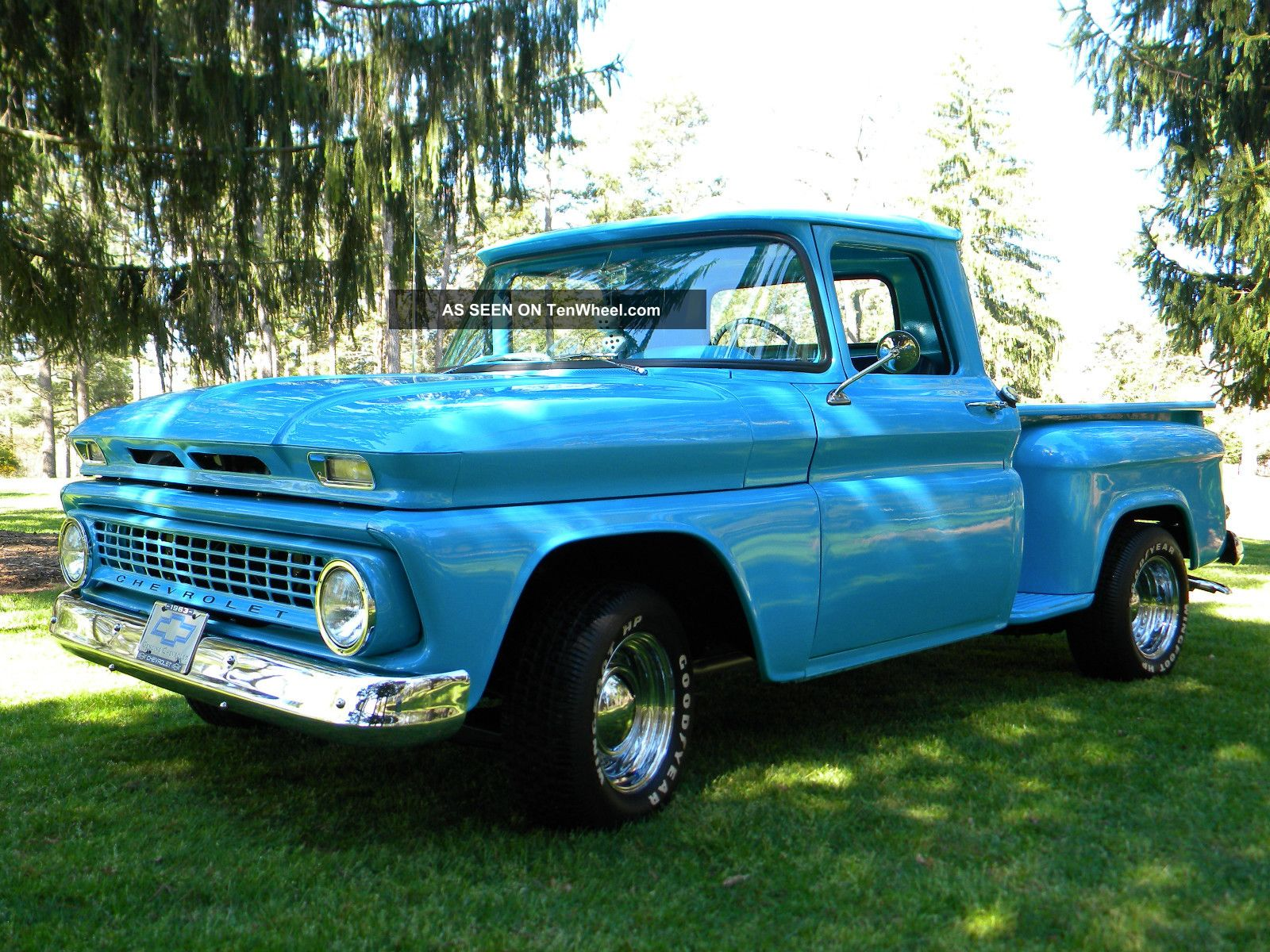 1963 Chevrolet C 10 Shortbed Stepside Pickup Show Truck