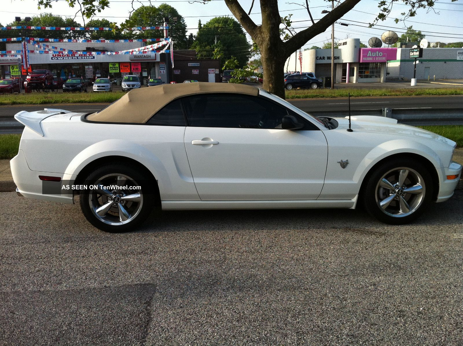 2009 Ford Mustang Gt Premium Convertible 45th Anniversary
