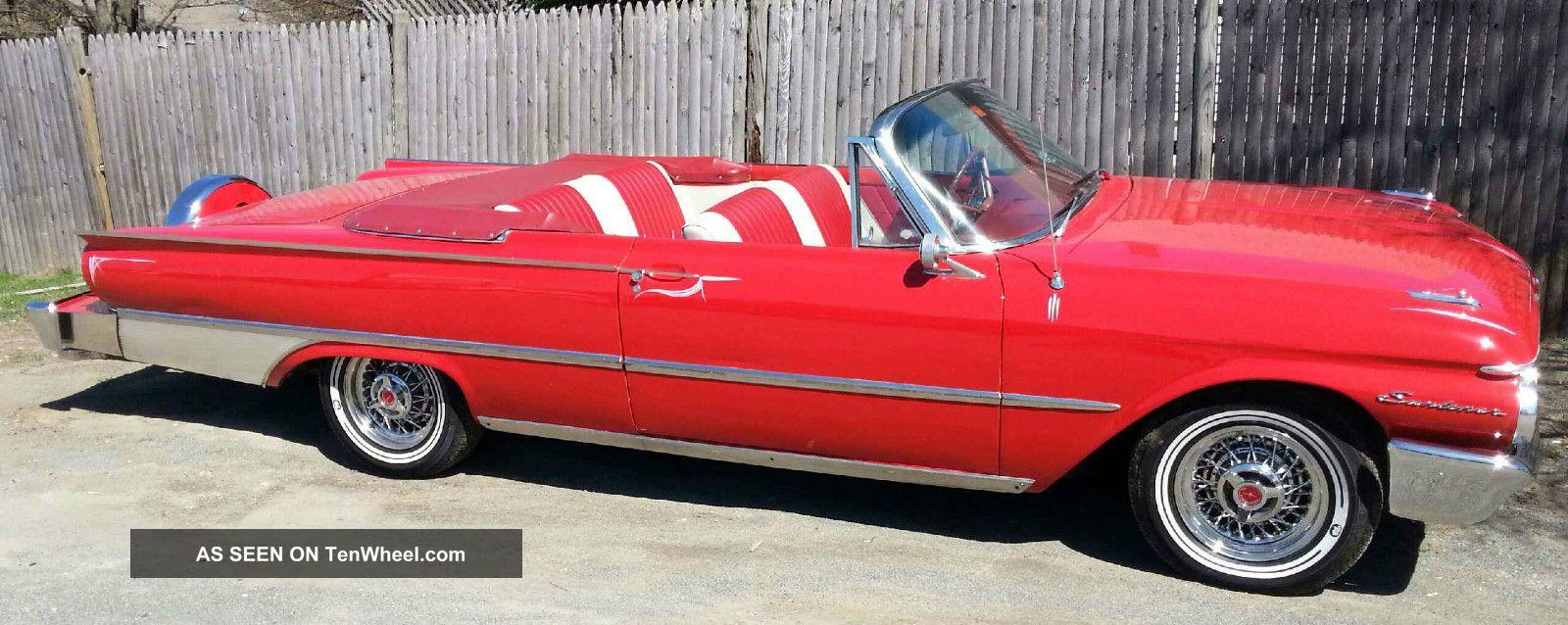 1961 Ford Galaxie Sunliner Convertiable ( ) Galaxie photo