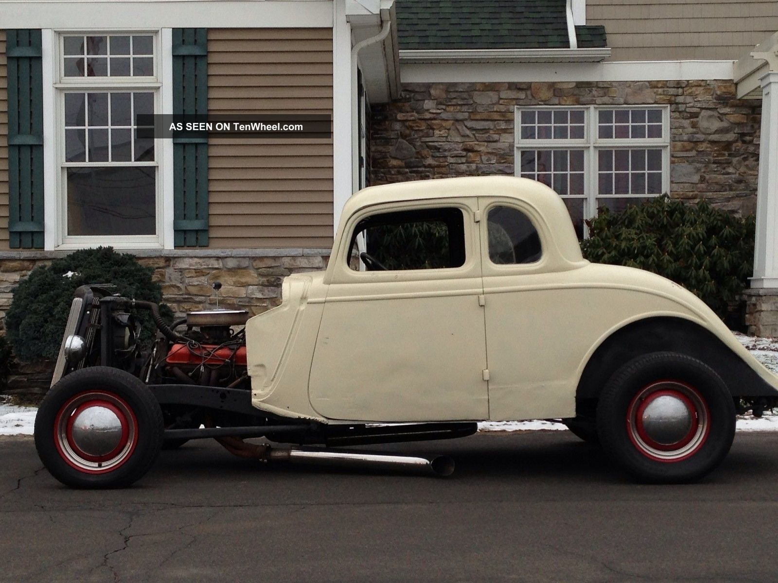 1934 ford 5 window coupe hot street rat rod custom un for 1934 ford 5 window