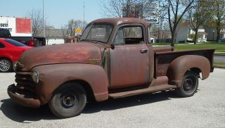 1952 Chevrolet 3100 5 Window Pickup Rat Rod Project photo