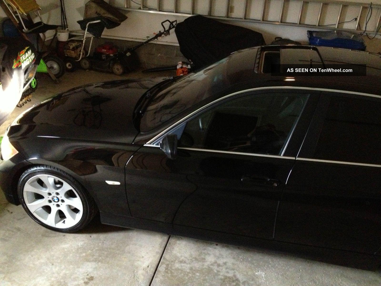 2006 Bmw 330i Base Sedan 4 - Door 3.  0l Black / Black W / Alumin.  Woww 3-Series photo