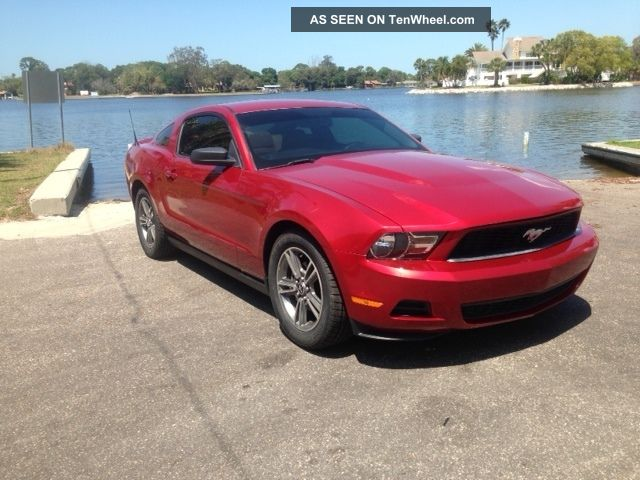 2010 Ford Mustang Base Coupe 2 - Door 4.  0l,  Seats Mustang photo