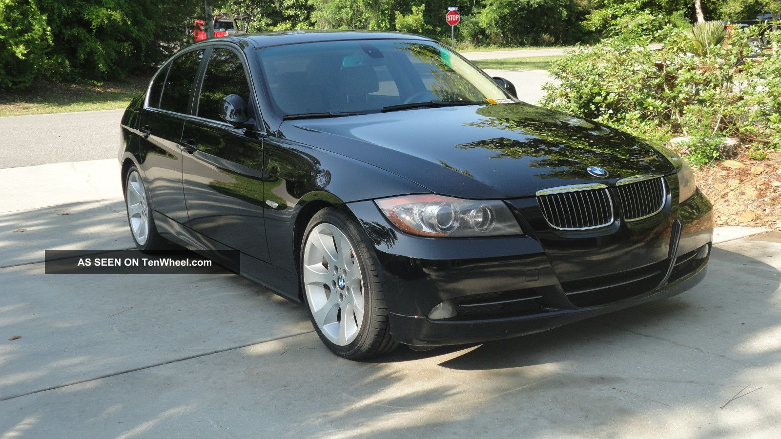 2006 Bmw 330i With Sport And Premium Package,  Black 3-Series photo