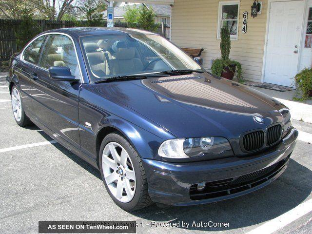 2003 Bmw 325ci Base Coupe 2 Door 2 5l